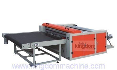 fly knife bottom sealing bag making machine
