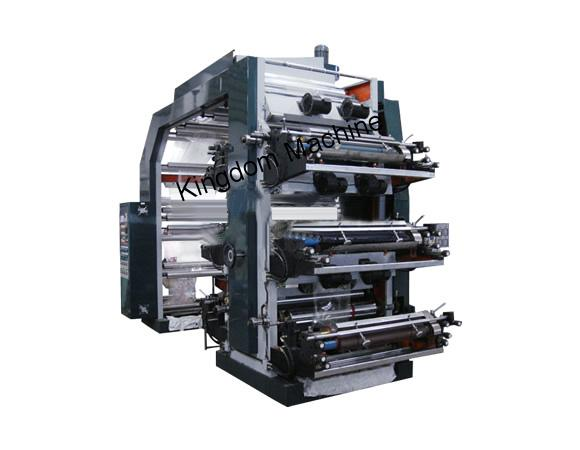 Six color film high-speed flexible printing machine